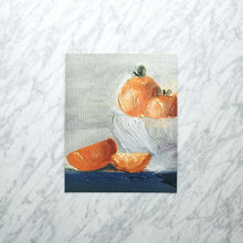 Load image into Gallery viewer, Oranges in a Bowl Art Print