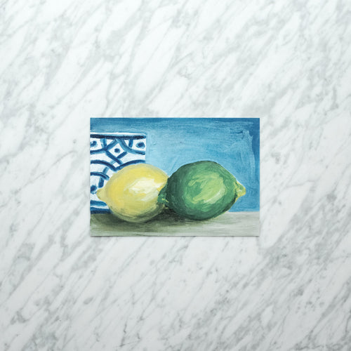 Lemon Lime Art Print