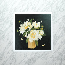 Load image into Gallery viewer, Yellow Flowers in Gold Vase Art Print