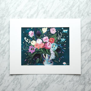 The Language of Flowers Art Print