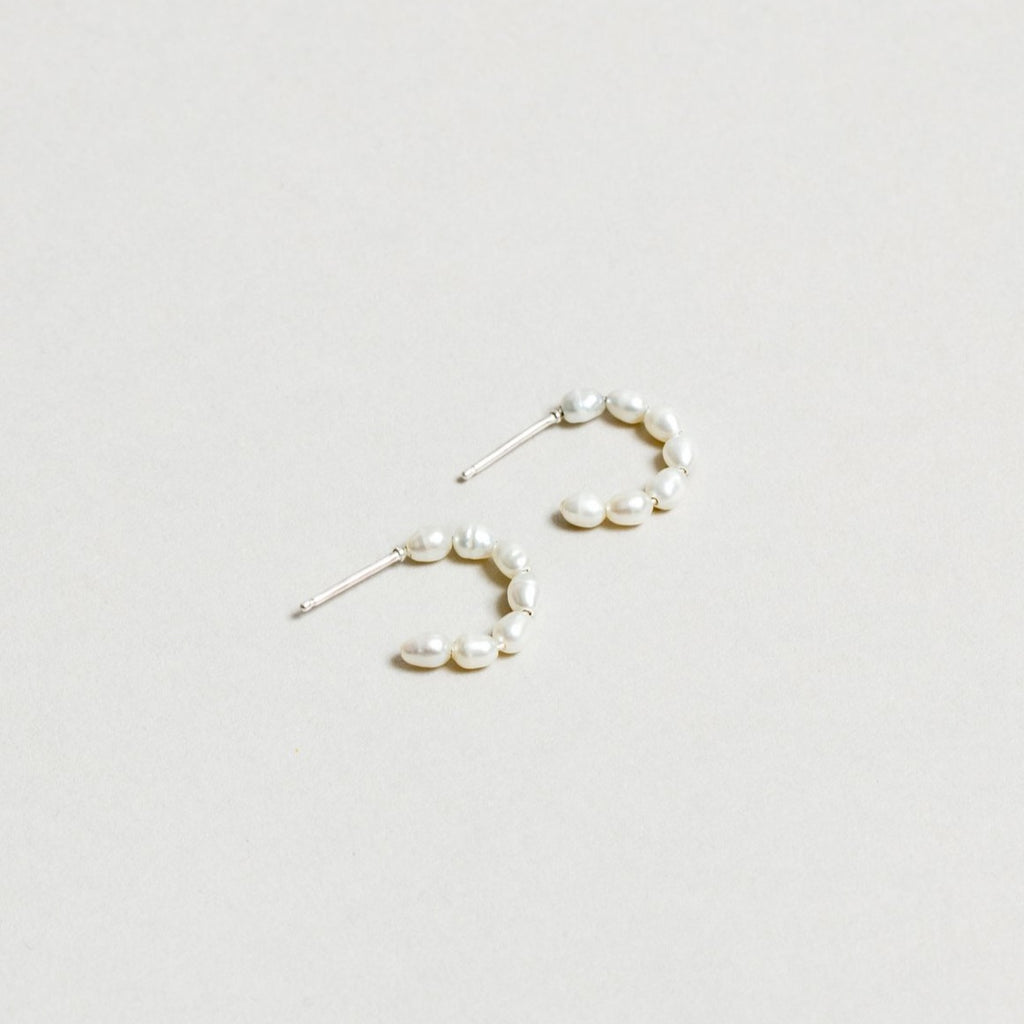 Wolf Circus Kaia Pearl Hoop Earrings