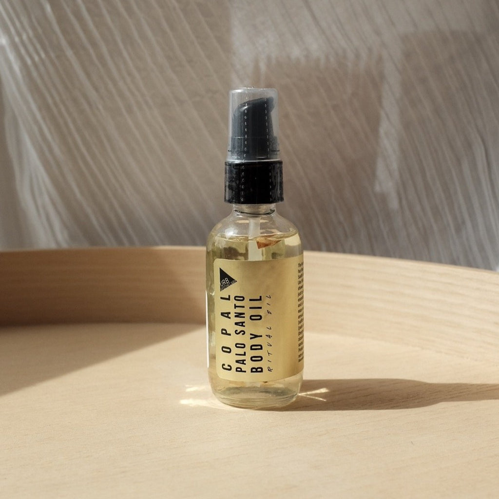 Copal Palo Santo Body Oil | Golden Rule Gallery | Clean Beauty