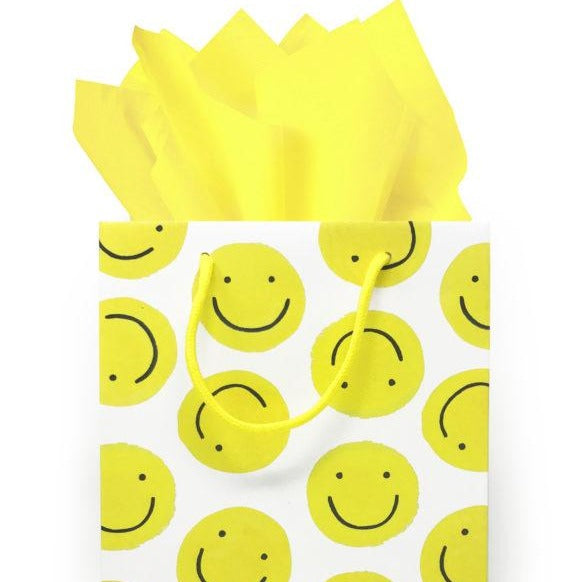 Smiley Face Gift Bag
