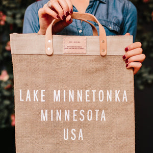 Lake Minnetonka Market Bag