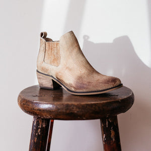 Ghost Ankle Boots in Desert Leather