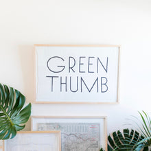 Load image into Gallery viewer, Green Thumb Tea Towel