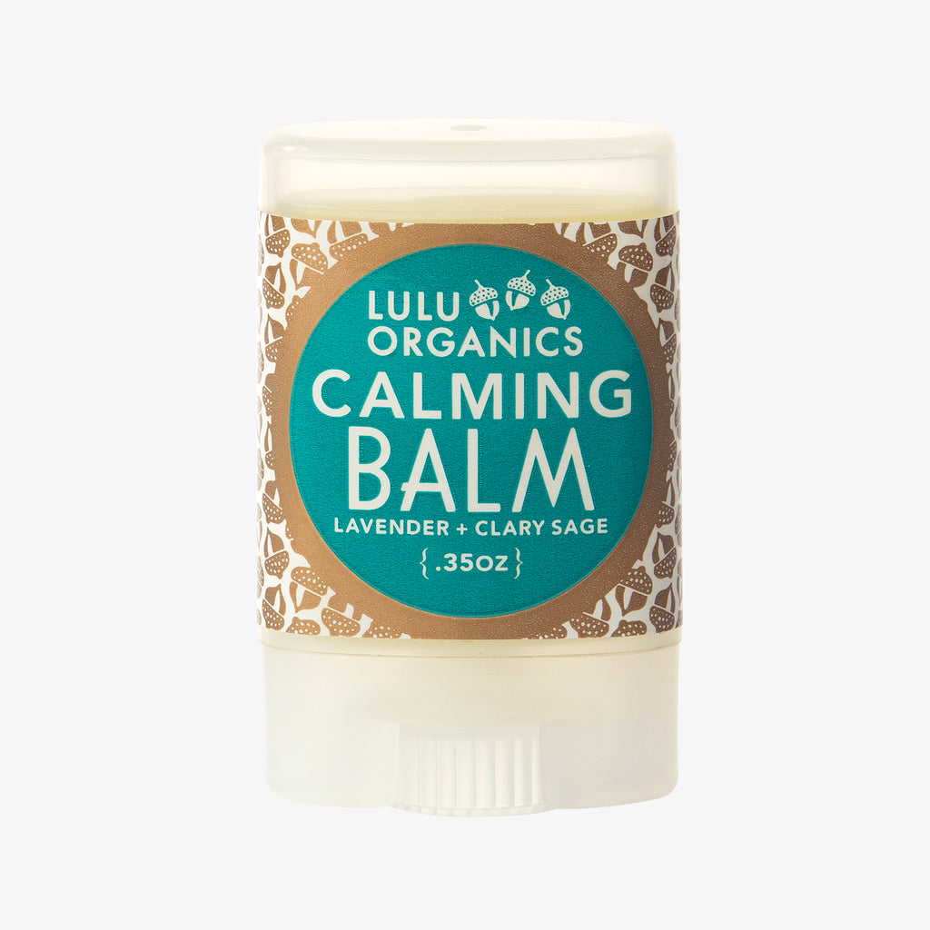Calming Balm | Organic Anxiety Relief | LULU ORGANICS | Soothing Anxiety Balm | Golden Rule Gallery | Excelsior, MN
