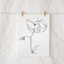 Load image into Gallery viewer, A Single Bloom Art Print