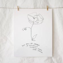 Load image into Gallery viewer, Bloom Again Come Spring Art Print