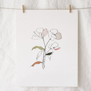 A Deconstructed Affair Art Print
