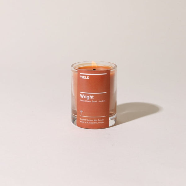 YIELD Wright Candle Votive | Golden Rule Gallery | Excelsior, MN