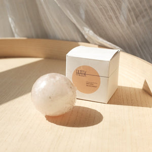 Natural Deodorant Sphere in Himalayan Pink Salt