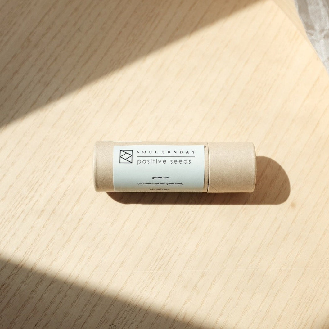 Positive Seeds Lip Balm | Green Tea