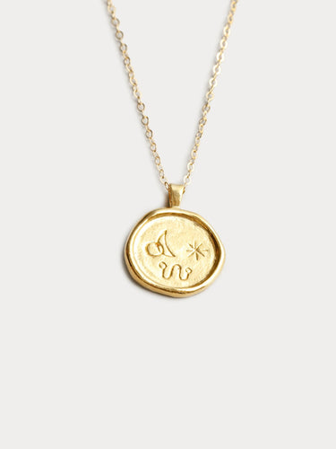 Miro Necklace in Gold