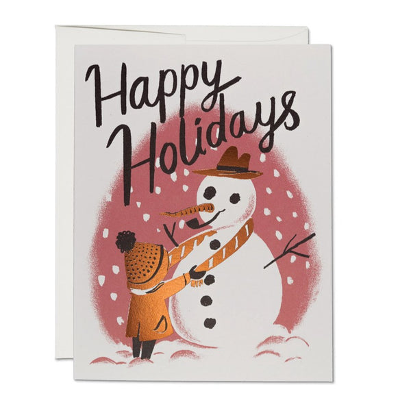 My Friend Snowman | Red Cap Cards | Holiday Cards | Golden Rule Gallery | Excelsior, MN