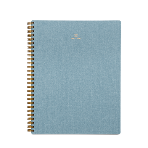 Classic Notebook in Chambray Blue