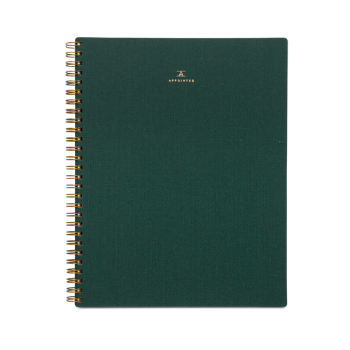 Classic Notebook in Hunter