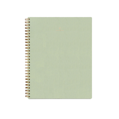 Workbook in Sage Green