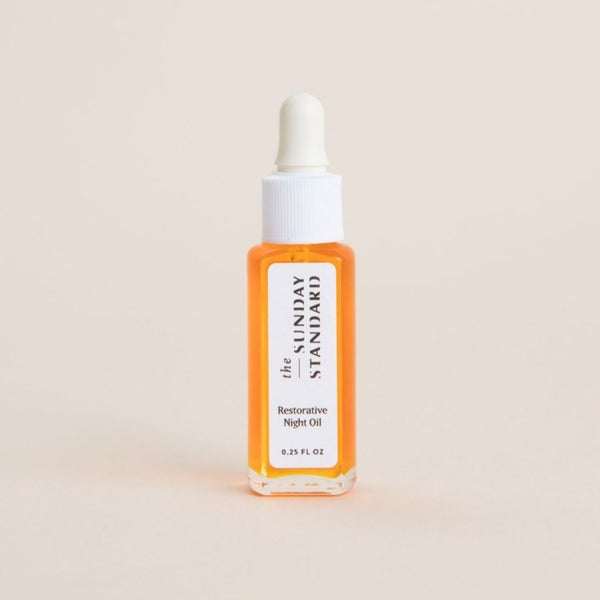 Mini Rosehip Restorative Night Oil | The Sunday Standard | Restorative Night Oil | Golden Rule Gallery | Excelsior, MN