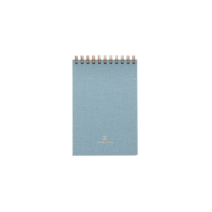 Pocket Notepad in Chambray Blue