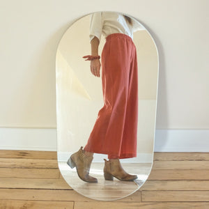 Brick Linen Bloom Pants