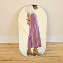Load image into Gallery viewer, Donni Purple Linen Bloom Pants