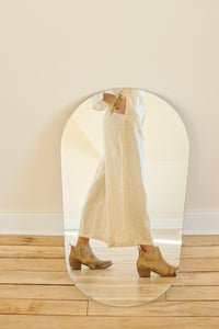 Donni Creme Linen Bloom Pants