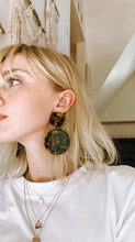 Load image into Gallery viewer, Scabiosa Tortoise Acetate Earrings
