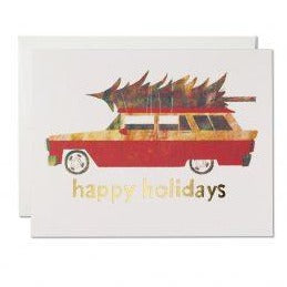 Holiday Chevy Card |  Holiday Card | Golden Rule Gallery | Excelsior, MN