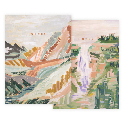 Mountains Notebook Set