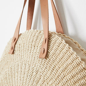 Scallop Oversized Bag