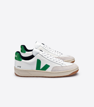 Load image into Gallery viewer, Veja White & Green Shoes
