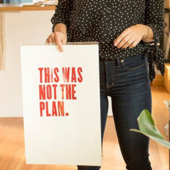 This Was Not The Plan Art Print