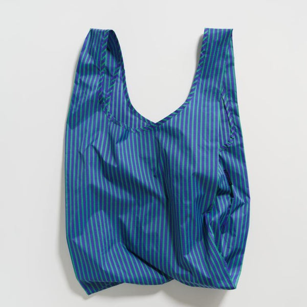 Striped Baggu Reusable Tote | Golden Rule Gallery