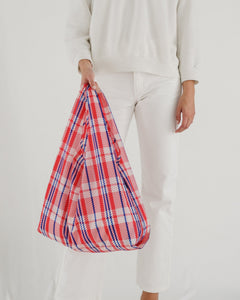 Reusable Tote in Market Red