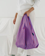 Load image into Gallery viewer, Reusable Tote in Optic Stripe