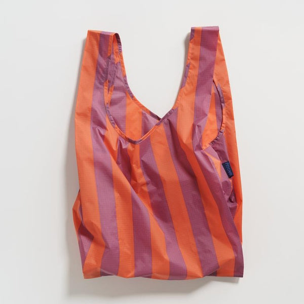Baggu Reusable Tote | Tote Bag | Striped Print | Golden Rule Gallery | Excelsior, MN
