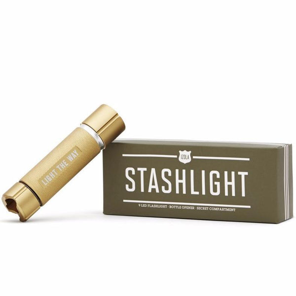 Stashlight | LED Flashlight | Bottle Opener | Secret Compartment | Izola | Camping Tool | Golden Rule Gallery | Excelsior, MN