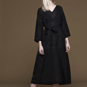 Virginia Dress in Black