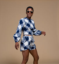 Load image into Gallery viewer, Norina Checkered Top