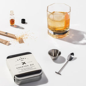 The Old-Fashioned Carry On Cocktail Kit