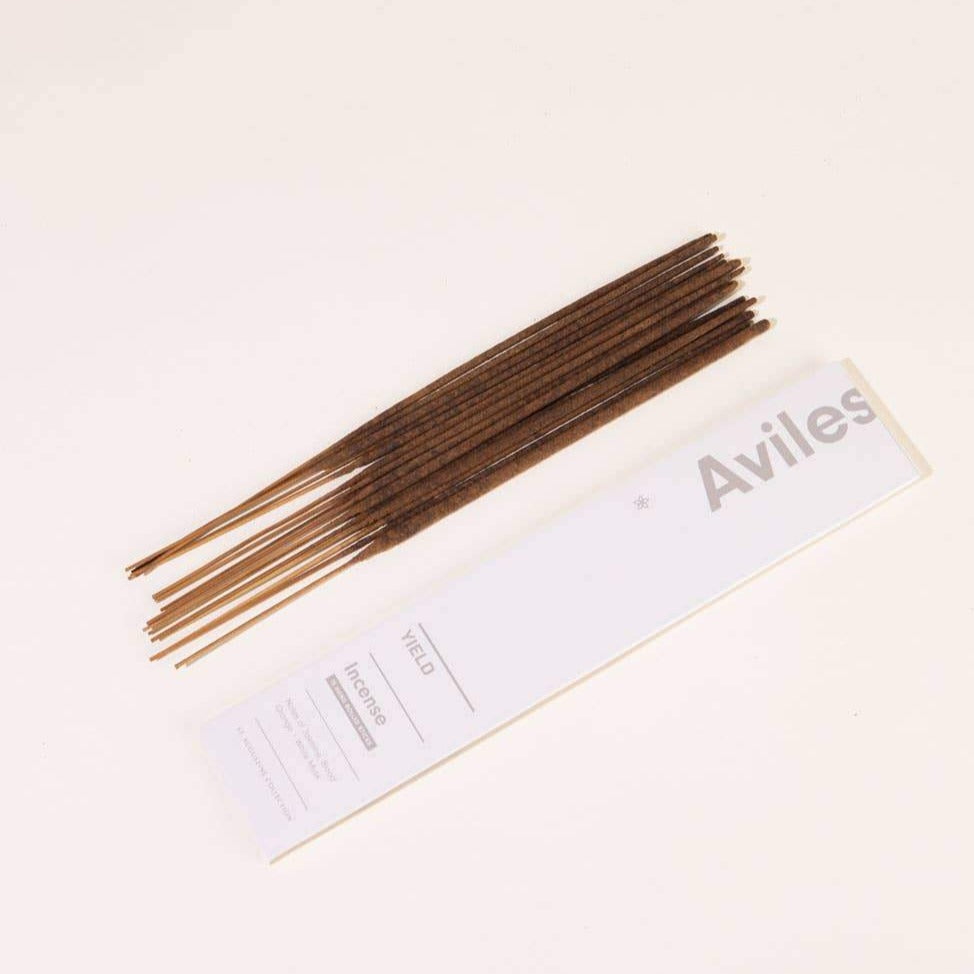 Yield Design Aviles Incense | YIELD Candles | Aviles Incense | Incense Pack | Golden Rule Gallery | Excelsior, MN