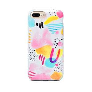 Watercolor Abstract Case for iPhone