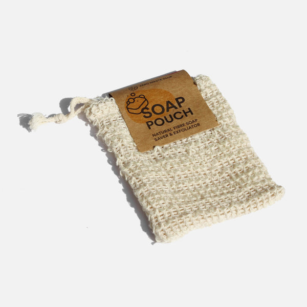 Biodegradable Soap Pouch | Zero Waste Club | Exfoliating Soap Pouch | Sustainable Toiletries | Golden Rule Gallery | Excelsior, MN