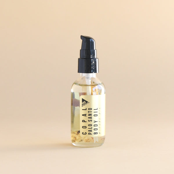 Copal Palo Santo Body Oil | Unisex Scent | Clean Beauty | Natural Beauty | Golden Rule Gallery
