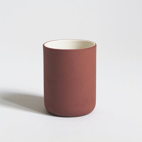 Coffee Cup in Terracotta | Ceramic Coffee Cup | Archive Studio | Golden Rule Gallery | Excelsior, MN