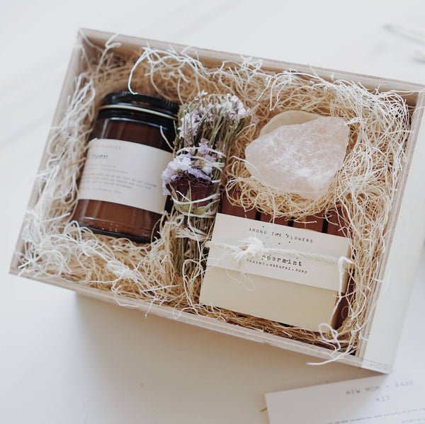Sacred Spaces Gift Box | Among The Flowers | Intentional and Natural Gift Set | Golden Rule Gallery | Excelsior, MN