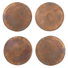 Load image into Gallery viewer, Copper Coasters, Set of Four