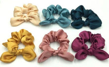 Load image into Gallery viewer, Satin Scrunchie Bow