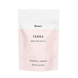 Terra Sugar Body Polish No 1 + Geranium and Orange